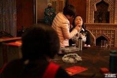 北京沙市城堡餐厅婚礼新娘跟妆-云杰彩妆