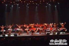 中华女子学院团体舞蹈比赛上门化妆造型